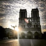 Inspire 2 & Notre Dame - Drone Paris