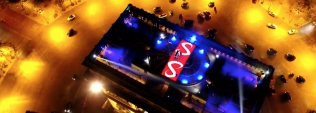 DJ snake - Drone Paris Arc de Triomphe